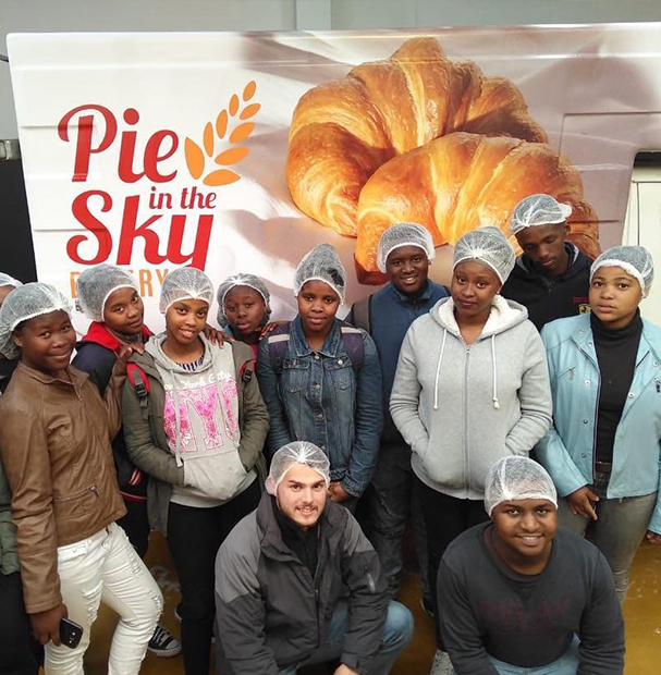 Pie in the Sky team and Social Responsibility